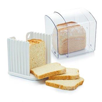 Cutie paine cu ghidaj pentru feliere Kitchen Craft, KCBREADKEEPER de la Kitchen Craft