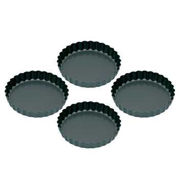 Set 4 forme de copt Kitchen Craft, KCMINIFLANPK4 de la Kitchen Craft