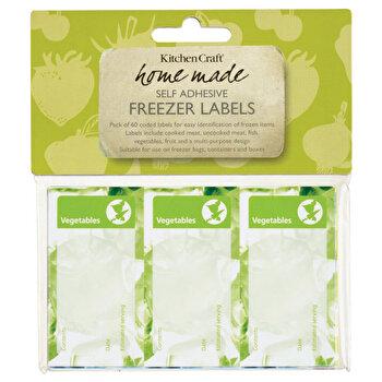 Set 60 etichete alimente congelate Kitchen Craft,KCFRZLAB, KCFRZLAB de la Kitchen Craft