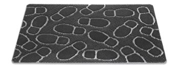 Covoras Intrare Decorino S12-043201, Negru, 40×60 cm de la Decorino