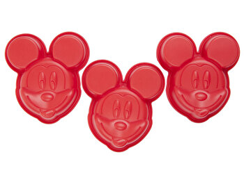 Forme Disney Minnie, 3 bucati, 68220, Rosu de la Disney