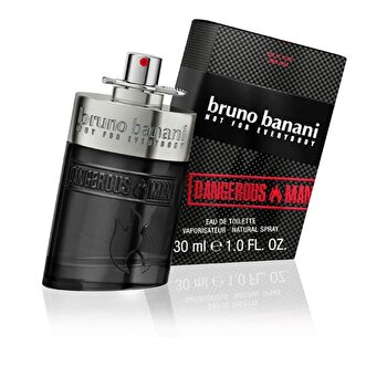 Apa de toaleta Bruno Banani Dangerous Man, 30 ml, pentru barbati de la Bruno Banani