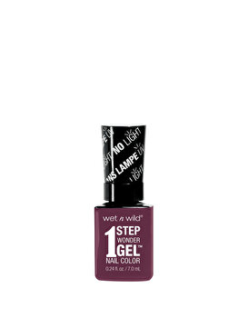 Lac de unghii 1 Step Wonder Gel, Under My Plum, 7 ml de la Wet n Wild
