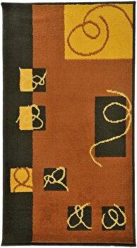Covor Decorino Modern & Geometric C97-030222, Maro/Bej, 160×235 cm de la Decorino