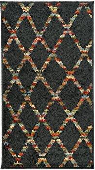 Covor Decorino Modern & Geometric C68-030703, Maro/Multicolor, 133×190 cm de la Decorino