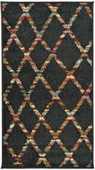 Covor Decorino Modern & Geometric C116-030703, Maro/Multicolor, 67×120 cm de la Decorino