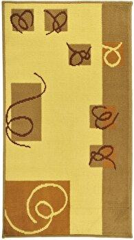 Covor Decorino Modern & Geometric C97-030223, Bej/Maro, 160×235 cm de la Decorino