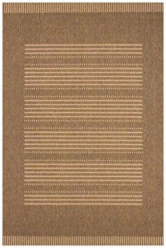 Covor Decorino Modern & Geometric C04-220101, Maro/Bej, 80×150 cm de la Decorino