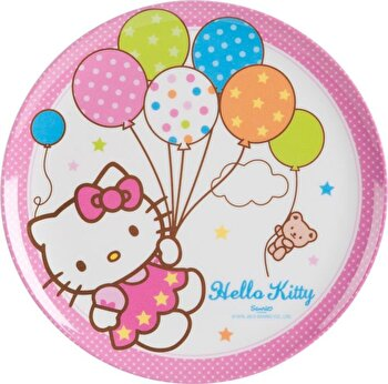 Farfurie intinsa Disney, Hello Kitty Cutie Pie, 64273, Roz de la Disney
