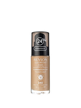 Fond de ten Colorstay pentru ten mixt si gras, 340 Early Tan, 30 ml de la Revlon