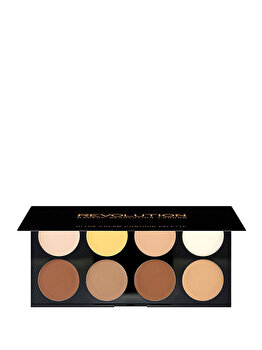 Paleta farduri cremoase Ultra Cream Contour, 8 culori de la Makeup Revolution London