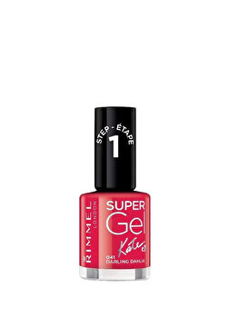 Lac de unghii Rimmel London Super Gel by Kate, 041 Darling Dahlia, 12 ml de la Rimmel