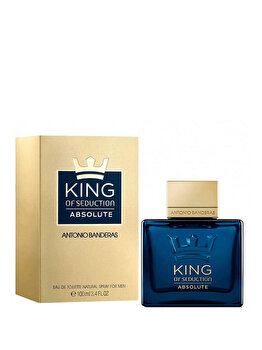 Apa de toaleta Antonio Banderas King of Seduction Absolute, 100 ml, pentru barbati de la Antonio Banderas