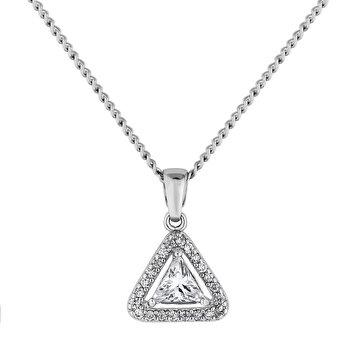 Colier cu pandantiv Diamond Style TRIAGONALPEN de la Diamond Style