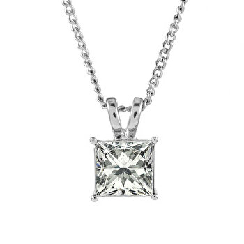 Colier Cu Pandantiv Diamond Style Princesspen