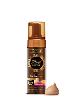 Spuma autobronzanta Magic Bronze, dark skin, 150 ml