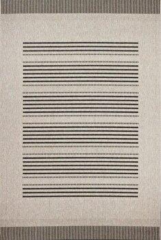 Covor Decorino Modern & Geometric C04-010308, Gri, 80×150 cm de la Decorino