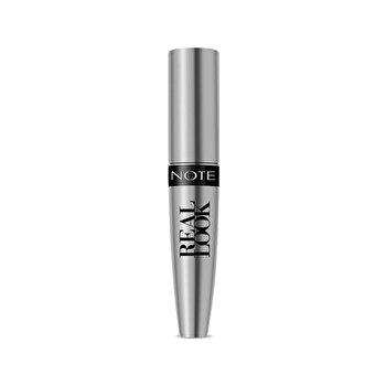 Mascara Real Look, Negru, 12 ml de la NOTE Cosmetics