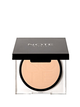 Pudra compacta Mineral, nr. 01, 10 g de la NOTE Cosmetics