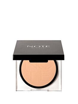 Pudra compacta Mineral, nr. 02, 10 g de la NOTE Cosmetics