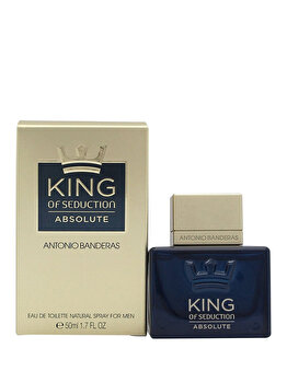 Apa de toaleta Antonio Banderas King of Seduction Absolute, 50 ml, pentru barbati de la Antonio Banderas