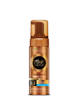 Spuma autobronzanta Magic Bronze, light skin, 150 ml de la Bielenda