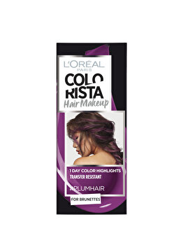 Gel colorant pentru par L'Oreal Paris Colorista Hair Makeup, Plum, 30 ml de la L Oreal Paris
