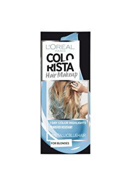 Gel colorant pentru par L'Oreal Paris Colorista Hair Makeup, Metallic Blue, 30 ml de la L Oreal Paris