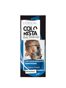 Gel colorant pentru par L'Oreal Paris Colorista Hair Makeup, Cobalt Blue, 30 ml de la L Oreal Paris