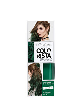 Vopsea temporara pentru par L'Oreal Paris Colorista Washout, Green, 80 ml de la L Oreal Paris