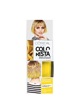 Vopsea temporara pentru par L'Oreal Paris Colorista Washout, Yellow, 80 ml de la L Oreal Paris