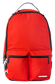 Rucsac Sprayground, Red Double Cargo Side Shark , Rosu + Sticker Cadou de la Sprayground