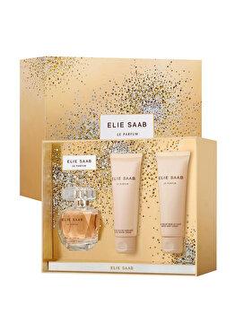 Set cadou Elie Saab Le Parfum (Apa de parfum 50 ml + Lapte de corp 75 ml + Crema de dus 75 ml), pentru femei