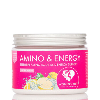 Amino & Energy – Ice Tea Lemon 270 g de la WOMEN'S BEST
