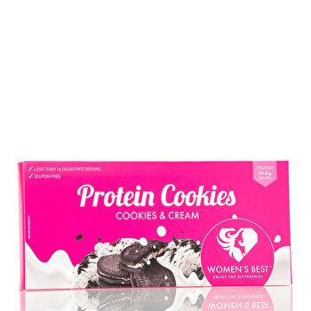 Biscuiti Proteici – Biscuiti & Crema – 125 g de la WOMEN'S BEST