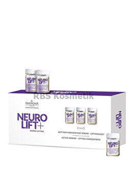 Fiole concentrat pentru dermo-lifting, Neuro Lift +, 10 x 5 ml de la Farmona