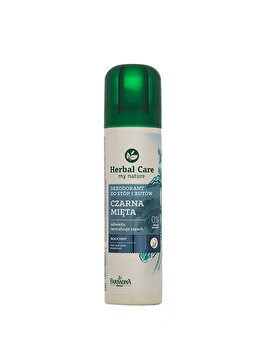 Deodorant pentru picioare si incaltaminte cu extract de menta neagra, 150 ml de la Farmona