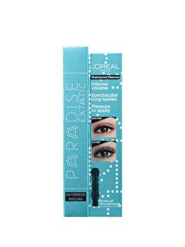 Mascara pentru volum si alungire L Oreal Paris Paradise Extatic Waterproof, 6.4 ml