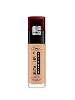 Fond de ten rezistent la transfer L Oreal Paris Infaillible 24H Fresh Wear, 235 Honey, 30 ml de la L Oreal Paris