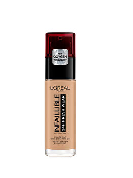 Fond de ten rezistent la transfer L Oreal Paris Infaillible 24H Fresh Wear, 150 Radiant Beige, 30 ml de la L Oreal Paris