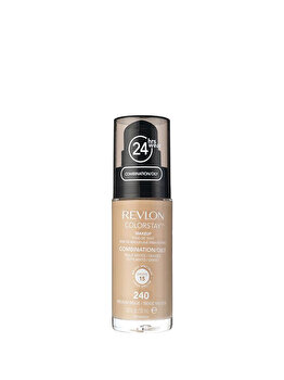 Fond de ten Colorstay pentru ten mixt-gras, 240 Medium Beige, 30 ml