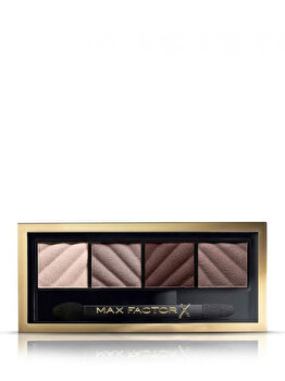 Paleta farduri de pleoape Max Factor Smokey Eye Matte Drama Kit, 20 Rich Roses, 6 g de la Max Factor