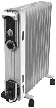Calorifer electric Zass ZR 13 SL, 2500 W, 13 elementi, Termostat reglabil, Protectie supraincalzire de la Zass