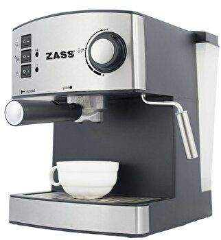 Espressor manual Zass ZEM 04, 850W, 15 bari, 2 portfiltre de la Zass