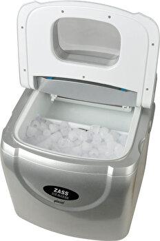 Masina de facut gheata Zass ZIM 01, capasitate productie cuburi gheata pe 3 dimenisuni intre 12-15kg/24h, rezervor 2,5L de la Zass