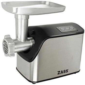 Masina de tocat Zass ZMG 07, 1800W, cutit otel inoxidabil, accesoriu de rosii inclus de la Zass