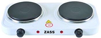 Plita electrica dubla Zass ZHP 05A, 2000W, 2 ochiuri, Temperatura 400 grade de la Zass