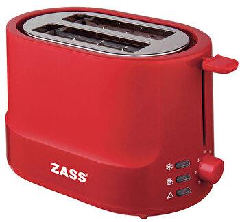 Prajitor de paine Zass ZST 10 RL Red Line, 850W, functie reincalzire / decongelare / anulare, oprire automata, tavita pentru frimituri de la Zass
