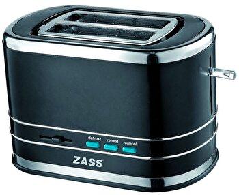 Prajitor de paine Zass ZST 04, 800W, 2 felii, Negru de la Zass