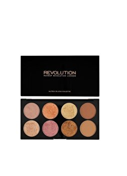 Paleta fard de obraz Golden Sugar, Rose Gold, Rose Gold de la Makeup Revolution London